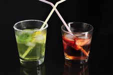 Free Cold Drinks Royalty Free Stock Photos - 13585278