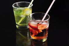 Free Cold Drinks Royalty Free Stock Photography - 13585417