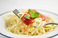 Free Spaghetti Royalty Free Stock Photo - 13586105
