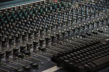 The Mixing Desk - Pattern Royalty Free Stock Images
