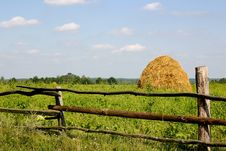 Free Haystack Royalty Free Stock Photography - 13588987