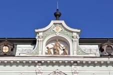 Free Historical House Facade In Kromeriz,world Heritage Royalty Free Stock Photo - 13589065