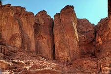 Free Stones Of Timna Park Stock Photography - 13589852