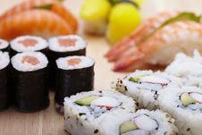 Free Sushi Stock Photo - 13589890
