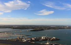 Free Iew From Skytower , Auckland Royalty Free Stock Photography - 13589957