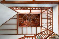 Free Structure, Ceiling, Daylighting, Beam Stock Photo - 135806180