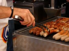 Free Food, Grilling, Meat, Sausage Royalty Free Stock Photo - 135806245
