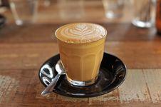 Free Latte, Cortado, Marocchino, Caffè Macchiato Stock Images - 135806314