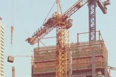 Free Construction, Crane, Structure, Tower Stock Photography - 135806342