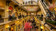 Free Shopping Mall, Tourist Attraction, Shopping, Arcade Royalty Free Stock Image - 135806726
