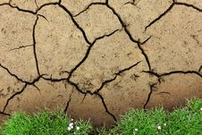 Free Soil, Drought, Grass, Rock Royalty Free Stock Photography - 135806767