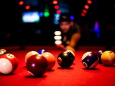 Free English Billiards, Billiard Ball, Indoor Games And Sports, Eight Ball Royalty Free Stock Photo - 135806945