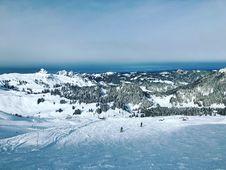 Free Nunatak, Sky, Glacial Landform, Snow Stock Image - 135806961