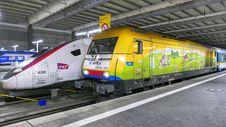 Free High Speed Rail, Train, Transport, Rail Transport Royalty Free Stock Photography - 135807127