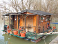 Free House On River Royalty Free Stock Photography - 13591247
