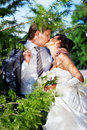 Free Kiss Bride And Groom Royalty Free Stock Photo - 13592535