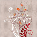 Free Decorative Floral Greeting Card Stock Photography - 13594112