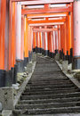 Free Red Tunnel, Japan Royalty Free Stock Photos - 13596888