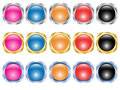 Free Set Of Buttons Stock Images - 13598384