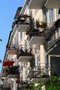 Free Balconies Stock Photography - 13598972