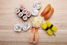 Free Sushi Stock Images - 13590044