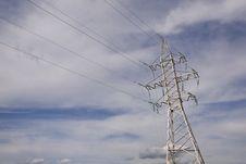 Free Power Line Royalty Free Stock Photo - 13590185