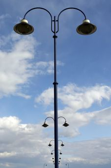 Free Lamps Line Royalty Free Stock Photos - 13590298