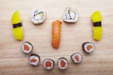 Free Sushi Royalty Free Stock Photos - 13590438