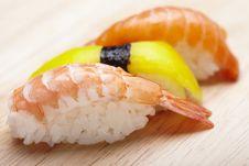 Free Sushi Stock Image - 13590601