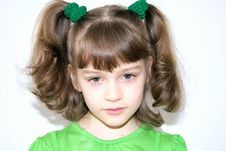 Free Portrait Of The Girl Stock Photography - 13590612