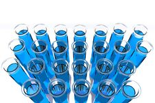 Free 3D Render Test Tube Stock Photography - 13590962