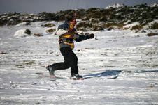 Free Kite Skiier Royalty Free Stock Photos - 13591818