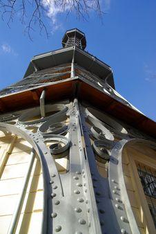 Free Petrin Tower In Prague Royalty Free Stock Image - 13591906