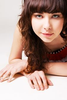 Free Pretty Young Brunette Royalty Free Stock Photography - 13591997