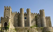 Free Obidos Castle Royalty Free Stock Images - 13592049