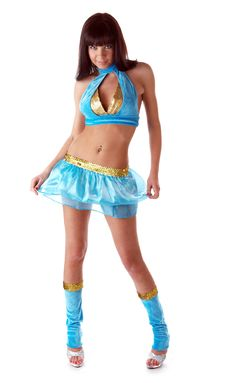 Free Go-go Dancer Royalty Free Stock Photo - 13592135