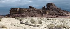 Stones Of Timna Park Royalty Free Stock Photos