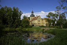 Straupe Castle Stock Image