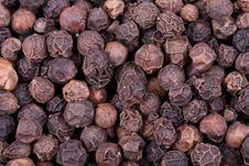 Free Black Pepper Balls Texture Royalty Free Stock Photos - 13592478