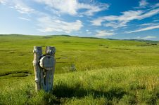 Free Rustic Mailbox 2 Stock Photography - 13592622