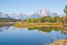Free Teton Reflections Royalty Free Stock Photography - 13592807