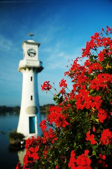 Free Lighthouse In Roath Park Royalty Free Stock Photos - 13593278