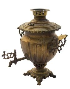 Free Russian Samovar Royalty Free Stock Image - 13593546