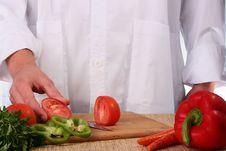 Free Cut Tomato Stock Image - 13593951