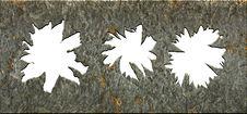 Free White Holes In The Metal Stock Photos - 13594093