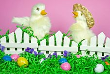 Free Easter Friends Stock Images - 13594454