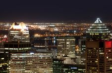 Free Montreal Skyline Stock Photography - 13594682