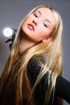 Free Beautiful Stylish Blonde Stock Photography - 13594762