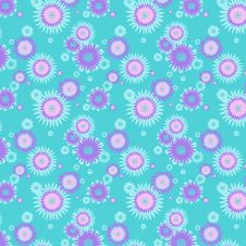 Flower Background,vector Illustration Stock Photography