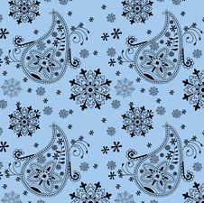 Free India Ornament Background. Paisley Seamless Royalty Free Stock Photo - 13594805